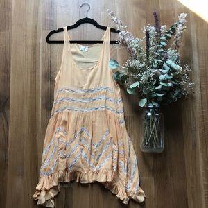 Free People Lace Trapeze Slip Dress